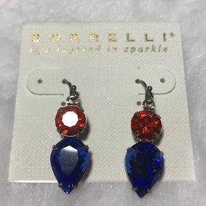 Sorrelli Jewelry - NWT SORRELLI Orange Crush Blue teardrop earring